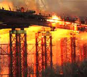 Пожар во Владивостоке
