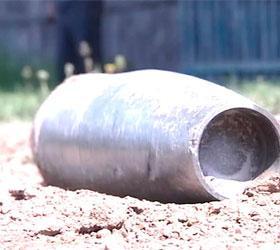 В Буйнакске на территории школы-интернета взорвались два снаряда