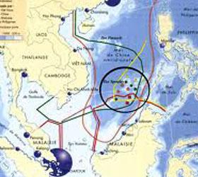 Патрульные корабли были направлены Китам к спорным островам