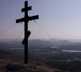 Свалил крест