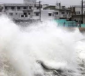 """На Приморье обрушился тайфун """"Санба"""""""