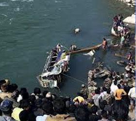 В непале упал автобус