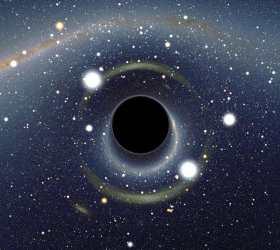 """Черная дыра в центре нашей Галактики """"съест"""" газовое облако за семь лет"""