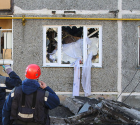 На Ставрополье в жилом доме прогремел взрыв: погибли два человека