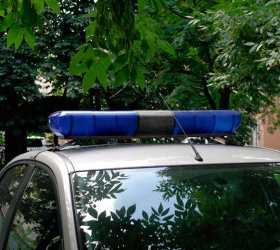 Пьяный сержант полиции в столице протаранил машину ОВД