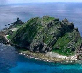 Три китайских корабля замечены у спорных островов Сенкаку