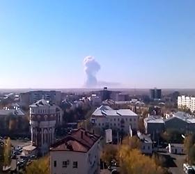 В Оренбурге на полигоне прогремели взрывы, которые люди приняли за землетрясение
