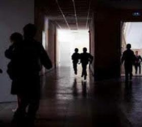 Газ в школе города Чита