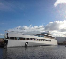 Яхта Стива Джобса была спущена в нидерландских водах