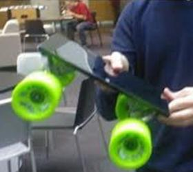 В скейтборды корпорация Microsoft превратила планшеты