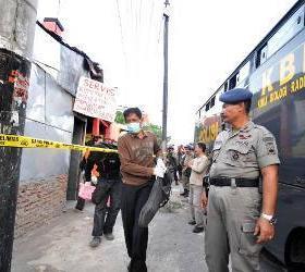 На острове Ява сотрудниками полиции были арестованы подозреваемые террористы