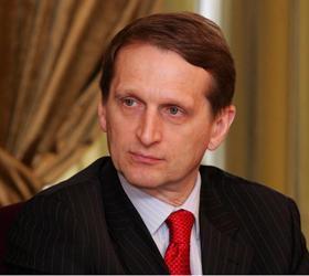 В Единую Россию может вступить Сергей Нарышкин
