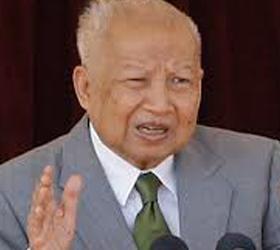 Нородом Сианук бывший король Камбоджи умер на девяностом году жизни