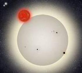 В системе из четырех звезд астрономы-любители открыли планету