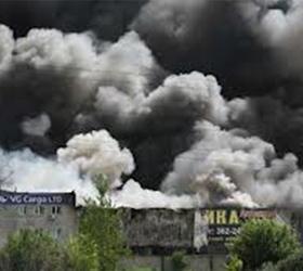 При пожаре в Шушарах завод Toyota в Санкт- Петербурге не пострадал