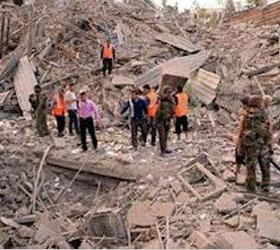 Серии взрывов в Алеппо унесли жизни несколько десятков людей