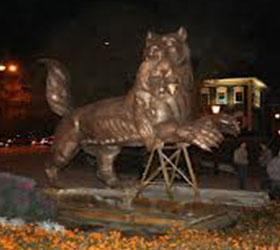 Скульптура бабра появилась в Иркутске