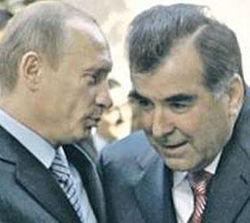 Снайперскую винтовку Рахмону подарил на юбилей Владимир Путин