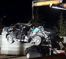 Дорожно-транспортное происшествие с участием сорок семи машин