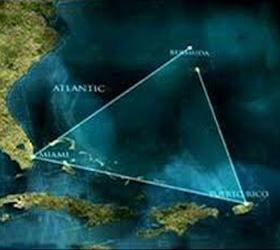Затонувший город был найден учеными в районе Бермудского треугольника