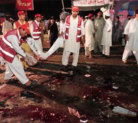 Взрыв в мечети в Афганистане