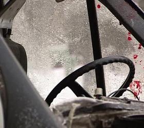В Самарской области перевернулся автобус с мигрантами