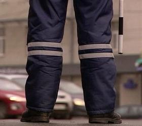 В Москве водитель сбил сотрудника ДПС и скрылся с места происшествия