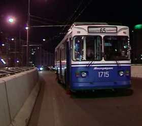 Из-за дорожной аварии на востоке столицы прервано троллейбусное движение