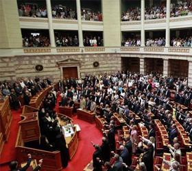 Бюджет-2013 принял парламент Греции