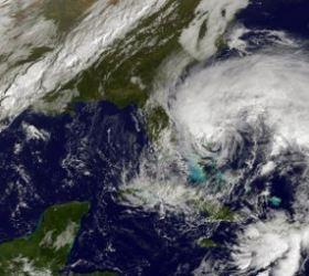 На Нью-Йорк надвигается новый шторм