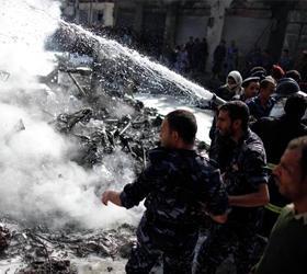 Крушение транспортного самолета в Йемене