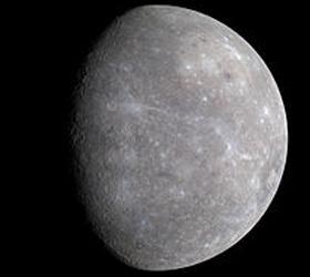 Замерзшая вода обнаружена на Меркурии