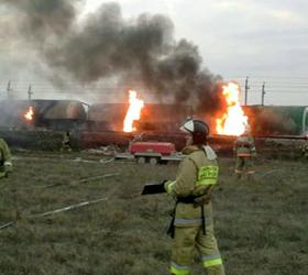 Найдены улики на месте крушения поезда, произошедшего на Кубани