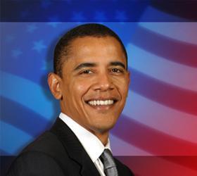 На выборах президента в Америке побеждает Барак Обама