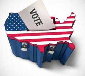 Первые прогнозы результатов выборов в Америке были опубликованы
