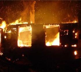 Трое детей погибли при пожаре в Красноярске