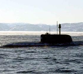 Российская атомная подлодка обнаружена у берегов Америки