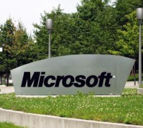 На 3,32 процента упали акции корпорации Microsoft