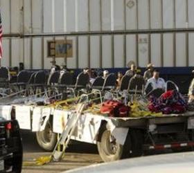 В Америке в процессию ветеранов врезался поезд
