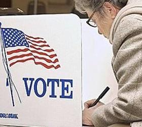 Выборы президента начались в Америке