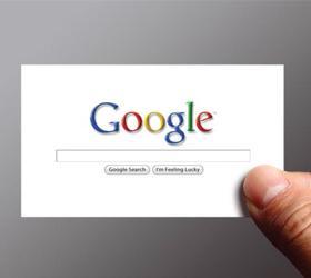 """У користувачів  """"комп'ютерної """" версії пошуковика Google з'явиться можливість вводити пошукові..."""