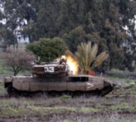 О поражении целей на территории Сирии объявили военные Израиля