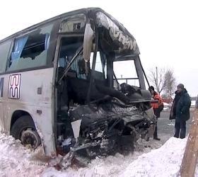 ДТП под Новосибирском: 5 человек погибли