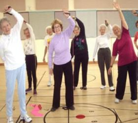 Аэробика повышает активность мозга у пожилых людей