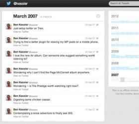 Твиттер позволит скачивать архив твиттов