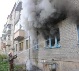 В Хакасии во время пожара задохнулись трое детей