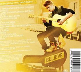 Джастин Бибер выпустил акустический альбом «BelieveAcoustic»