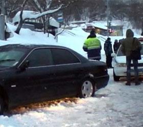 На Камчатке пьяным водителем были сбиты на остановке одиннадцать человек