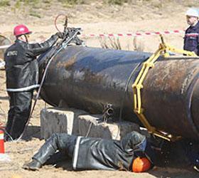 В тверской области авария – прорвало газопровод