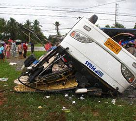 Туристы из России попали в аварию в Таиланде